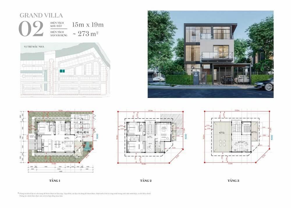 Mẫu dinh thự ven sông Riverfront Grand villa 2
