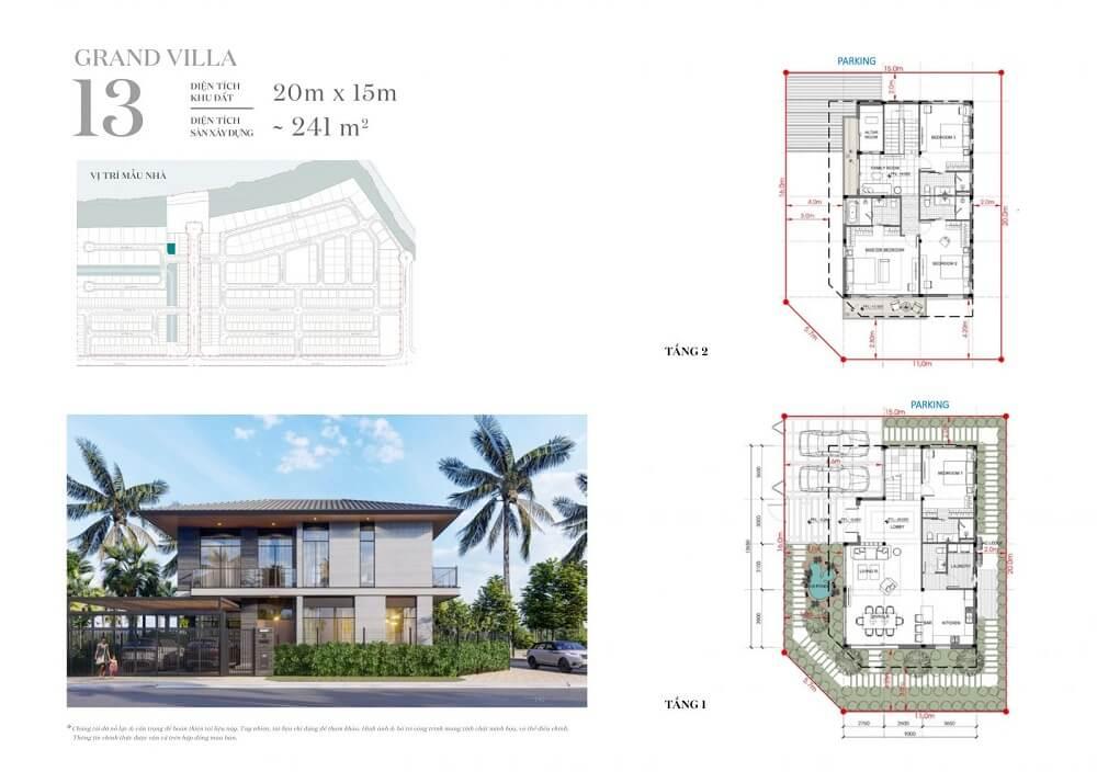 Mẫu dinh thự ven sông Riverfront Grand villa 5