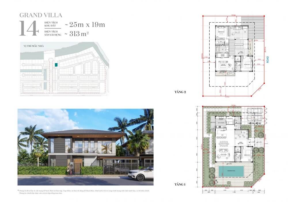 Mẫu nhà Dinh thự ven sông - Rivera 1