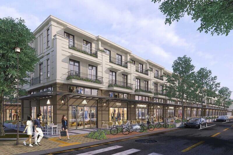 Shophouse Waterpoint phân khu Rivera 1