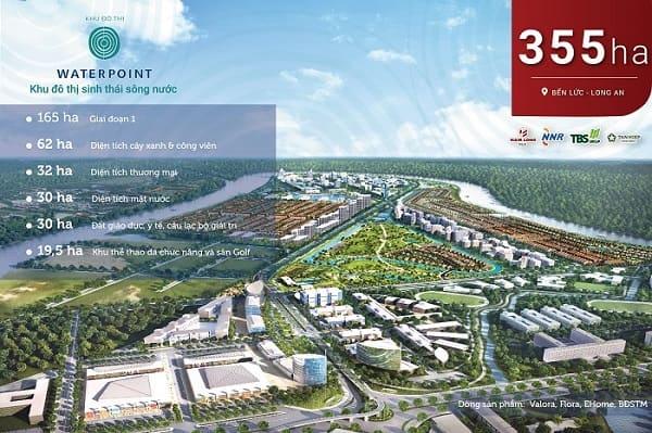 Bán đất dự án Waterpoint khu đô thị cao cấp, trong lành