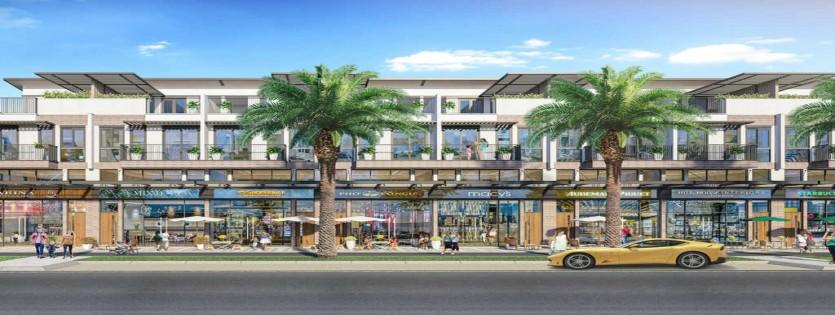 Shophouse có thiết kế hiện đại, tinh tế, ấn tượng và tận dụng được tối đa không gian cũng như công năng sử dụng