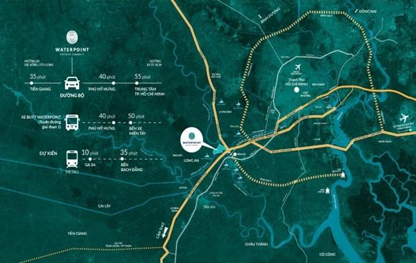 Vị trí mang tính chiến lược của dự án Waterpoint