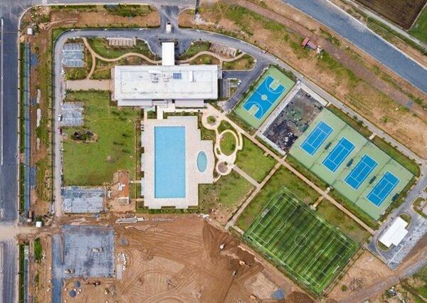 Đất nền dự án Waterpoint nhìn từ trên cao