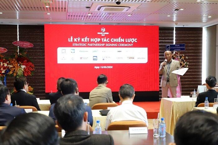 Nam Long ký chiến lược với nhà cung cấp uy tín