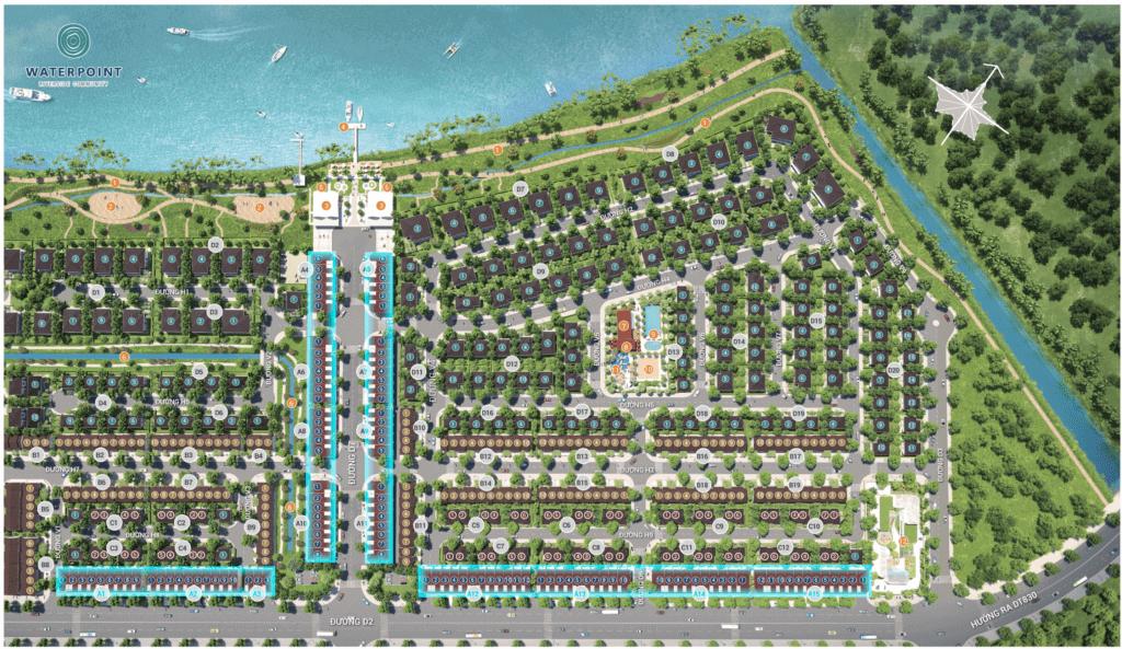 Bản đồ ShopHouse - Rivera 1