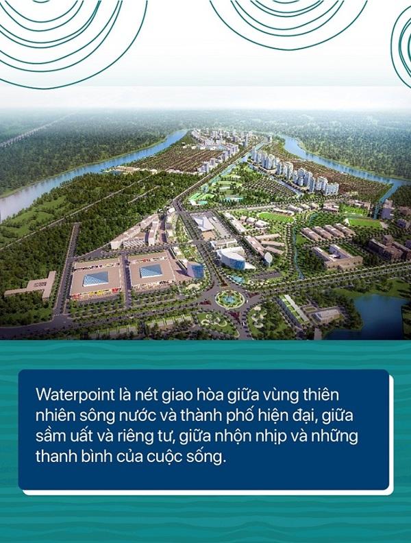 Nhà phố Waterpoint - thành phố lý tưởng