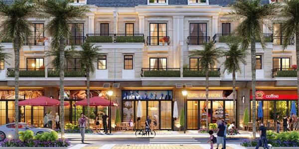 Mặt bằng Shophouse có vị trí đắc địa, dễ thu hút khách hàng tiềm năng